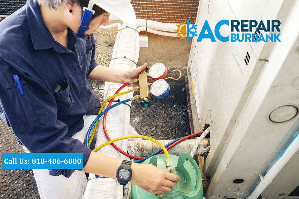 Central Air and Heat Repair Symptoms in Burbank