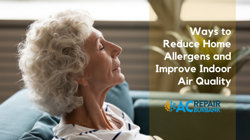 Ways to Reduce Home Allergens and Improve Indoor Air Quality